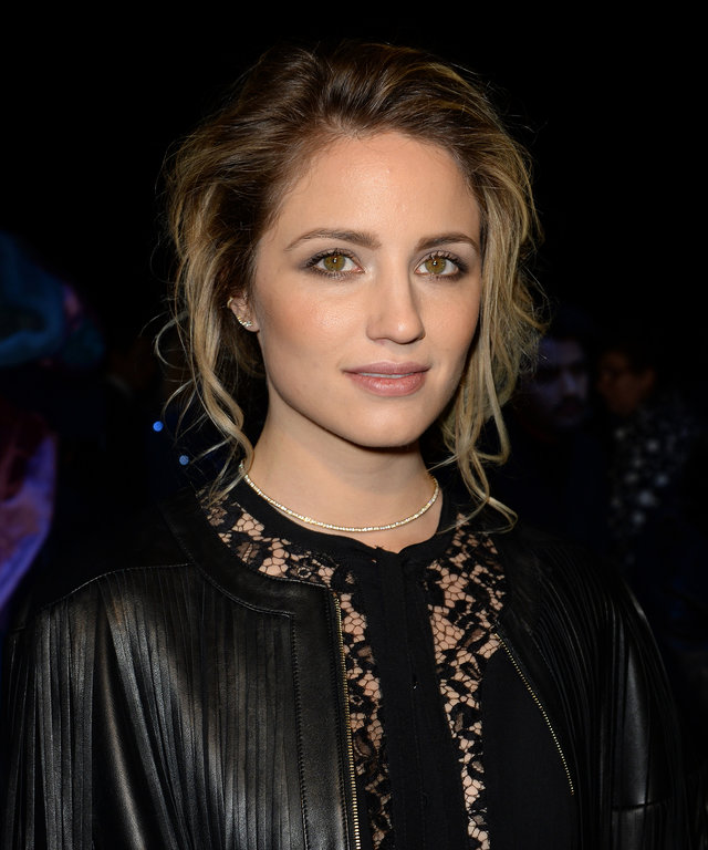 PARIS, FRANCE - MARCH 05:  Dianna Agron attends the Elie Saab  show as part of the Paris Fashion Week Womenswear Fall/Winter 2016/2017 on March 5, 2016 in Paris, France.  (Photo by Dominique Charriau/WireImage)
