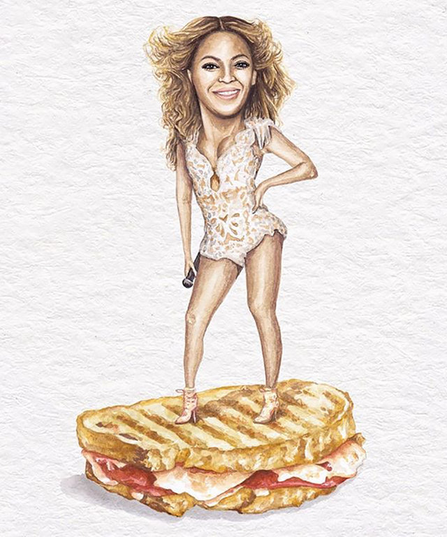 "Why the Hilarious ""Celebs on Sandwiches"" Is a Must-Follow on Instagram"