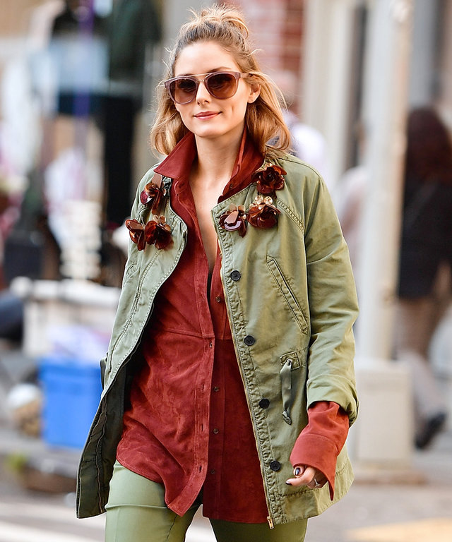 NEW YORK, NY - OCTOBER 18:  Olivia Palermo seen in SoHo during a photoshoot on October 18, 2016 in New York City.  (Photo by James Devaney/GC Images)