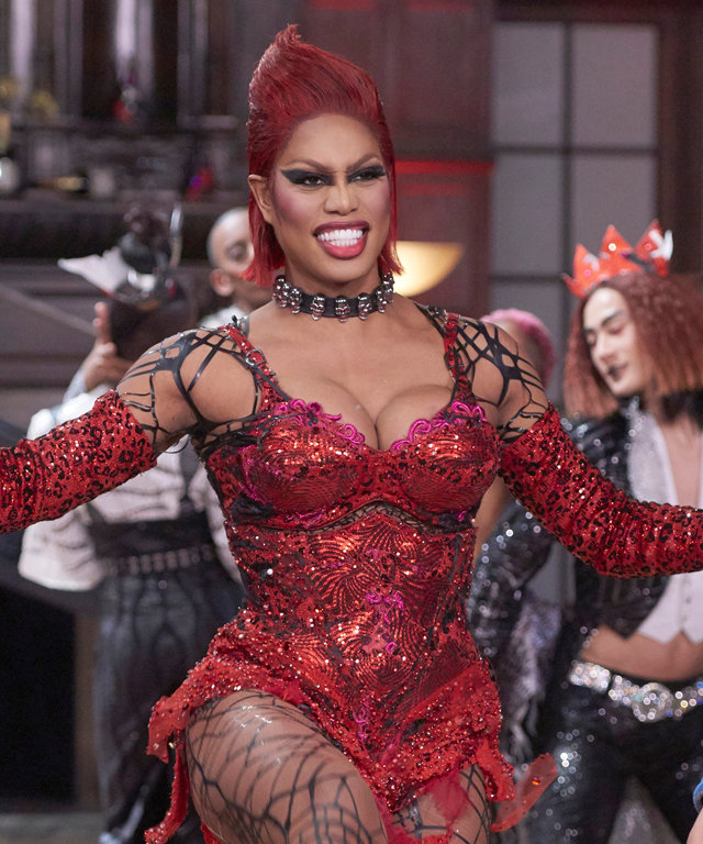 Here's Everything You Need to Know About Laverne Cox's Costumes on Rocky Horror Picture Show