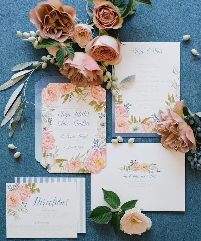 Here's How Your Invitations Can Set the Tone for Your Whole Wedding