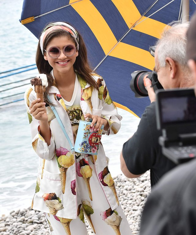Zendaya Wows in Behind-the-Scenes Snaps from Her Dolce & Gabbana Campaign