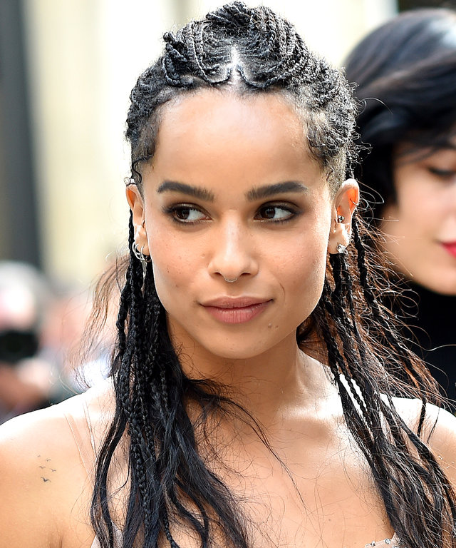 You've Never Seen Zoë Kravitz's Hair Quite Like This Before