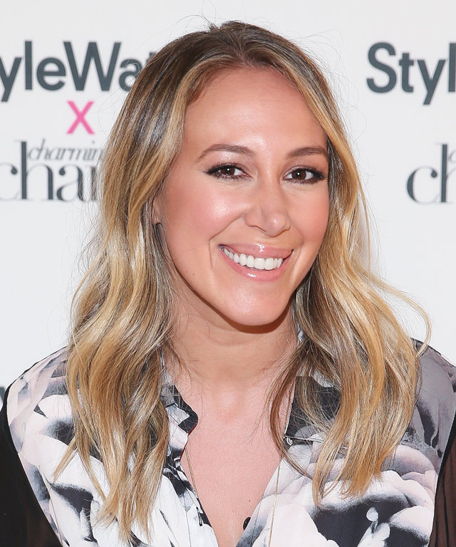 NEW YORK, NY - AUGUST 03:  Haylie Duff attends the StyleWatch X Charming Charlie launch event at Charming Charlie NYC flagship on August 3, 2016 in New York City.  (Photo by Rob Kim/Getty Images)