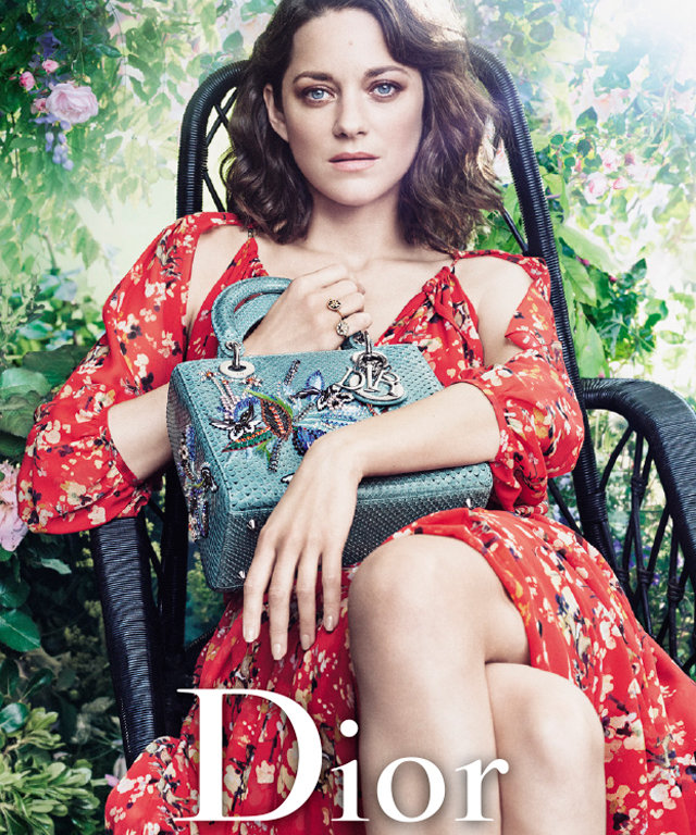 Marion Cotillard Stuns as the Face of Lady Dior's Newest Campaign