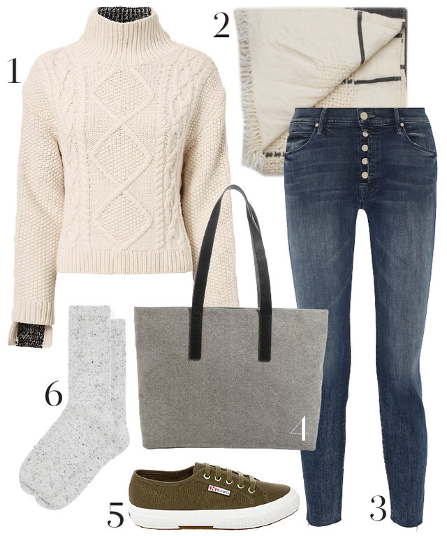 Get Ready for the Weekend with This Cozy Autumn Outfit