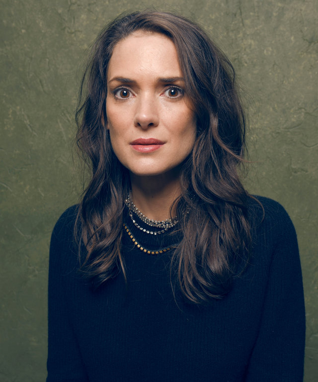 "PARK CITY, UT - JANUARY 24:  Actress Winona Ryder from ""Experimenter"" poses for a portrait at the Village at the Lift Presented by McDonald's McCafe during the 2015 Sundance Film Festival on January 24, 2015 in Park City, Utah.  (Photo by Larry Busacca)"