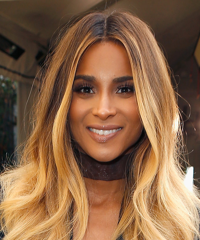 Ciara Shows the First Peek of Her Adorable Baby Bump in a Metallic Mini