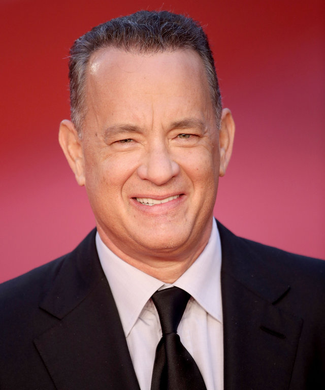 ROME, ITALY - OCTOBER 13:  Tom Hanks walks a red carpet on October 13, 2016 in Rome, Italy.  (Photo by Franco Origlia/Getty Images)