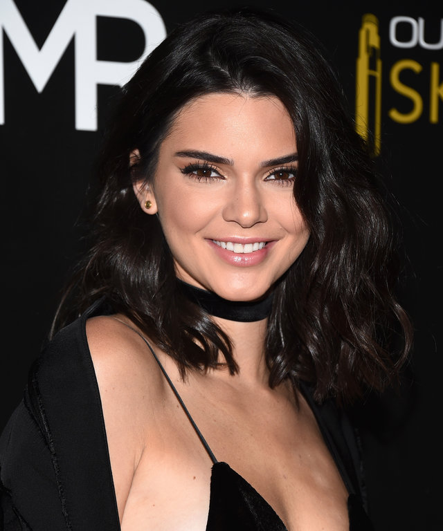 LOS ANGELES, CA - JULY 14:  Model Kendall Jenner arrives at the launch of OUE Skyspace LA at the U.S. Bank Tower on July 14, 2016 in Los Angeles, California.  (Photo by Amanda Edwards/WireImage)