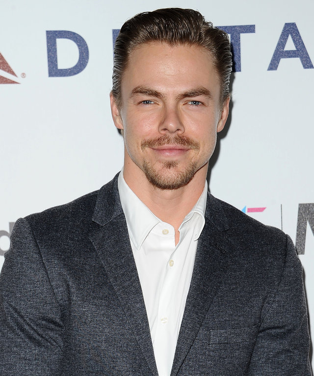 LOS ANGELES, CA - OCTOBER 01:  Dancer Derek Hough attends MPTF's 95th anniversary celebration  Hollywood's Night Under The Stars  on October 1, 2016 in Los Angeles, California.  (Photo by Jason LaVeris/FilmMagic)