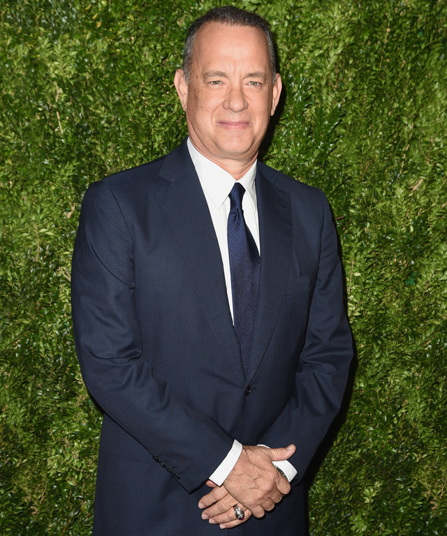 NEW YORK, NY - NOVEMBER 15:  Tom Hanks attends the MoMA Film Benefit presented by CHANEL, A Tribute To Tom Hanks at MOMA on November 15, 2016 in New York City.  (Photo by Nicholas Hunt/WireImage)