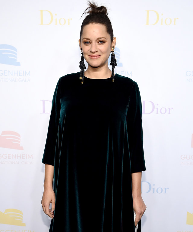 NEW YORK, NY - NOVEMBER 16:  Marion Cotillard attends the 2016 Guggenheim International Pre-Party made possible by Dior at Solomon R. Guggenheim Museum on November 16, 2016 in New York City.  (Photo by Dimitrios Kambouris/Getty Images for Christian Dior C