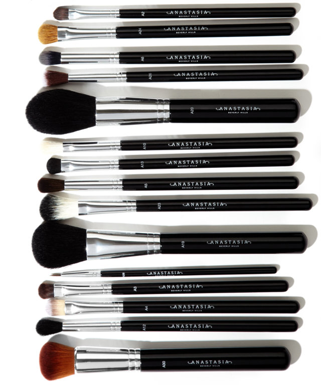 Anastasia's Makeup Brushes Are the Stuff Our Dreams Are Made Of
