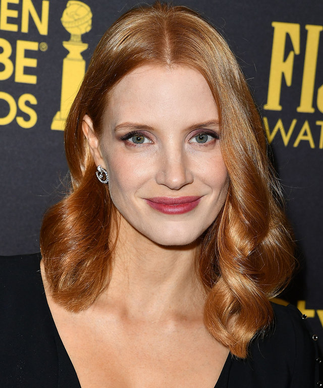 Jessica Chastain Looks Totally Different As a Brunette