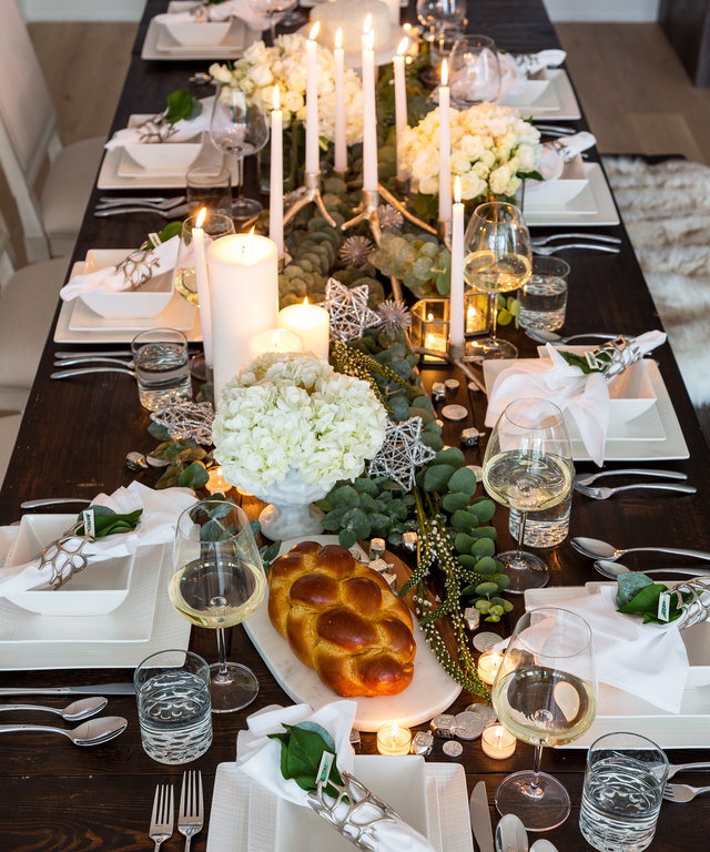 4 Gorgeous Hanukkah Décor Ideas from Taylor Spellman