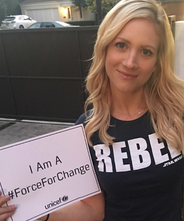 See the Stars Supporting UNICEF with Star Wars-Inspired Tees