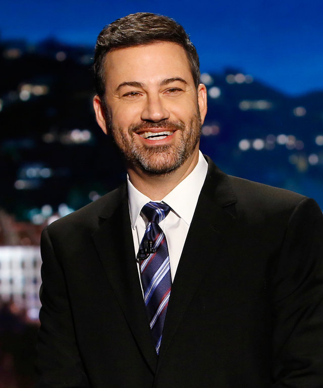 "JIMMY KIMMEL LIVE - ""Jimmy Kimmel Live"" airs every weeknight at 11:35 p.m. EST and features a diverse lineup of guests that include celebrities, athletes, musical acts, comedians and human interest subjects, along with comedy bits and a house band. The gu"