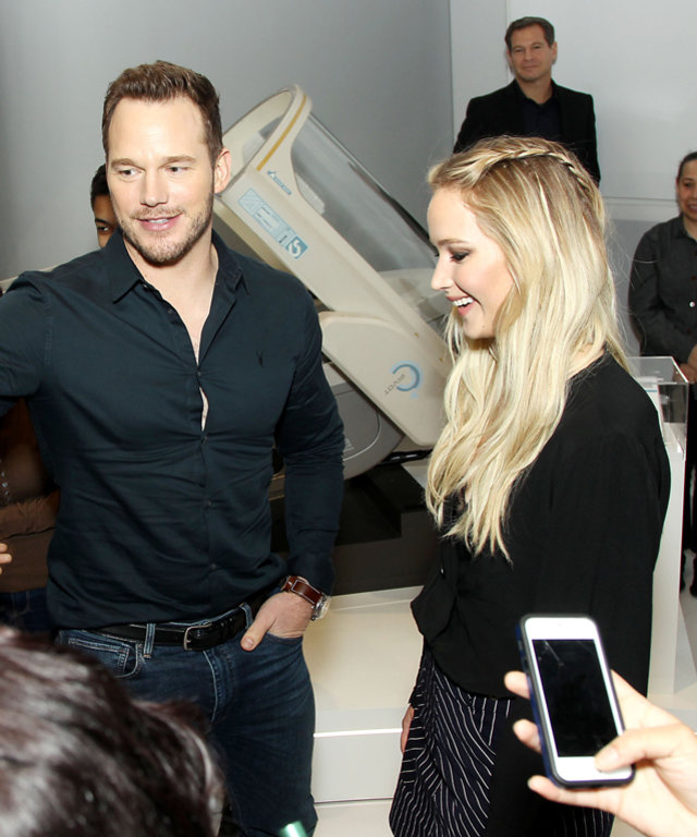 J.Law and Chris Pratt Just Made These Film School Students' Day