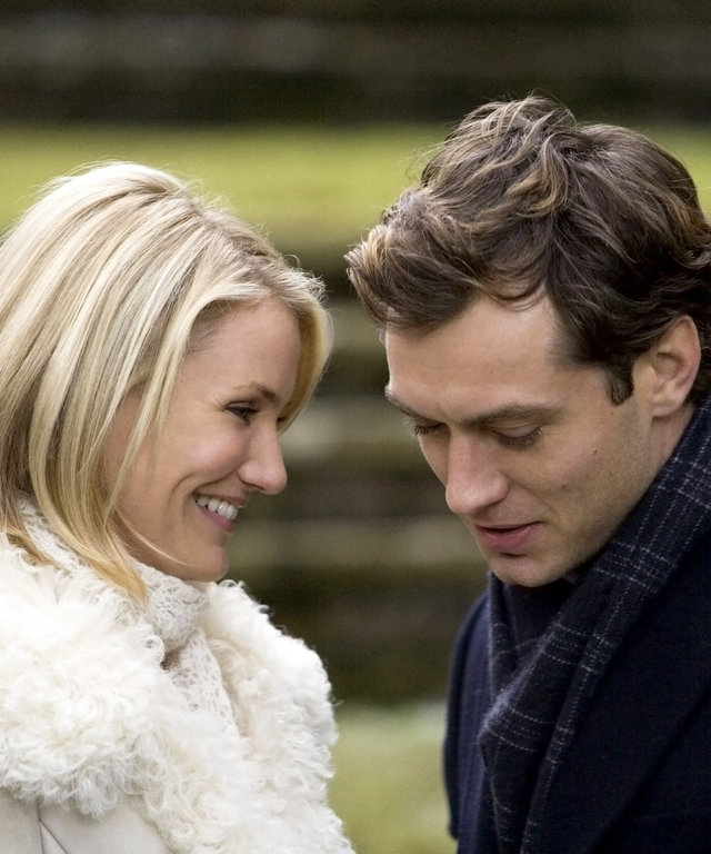 THE HOLIDAY, Cameron Diaz, Jude Law, 2006. ©Columbia Pictures/courtesy Everett Collection