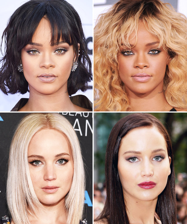 Blonde vs. Brunette: These Stars Prove Hair Color Can Change Everything