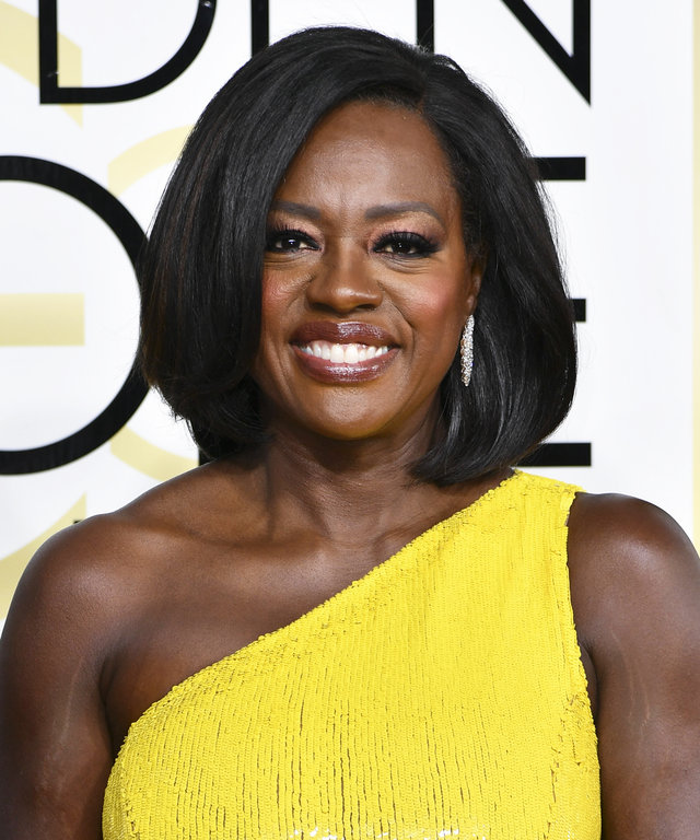 Mandatory Credit: Photo by Rob Latour/REX/Shutterstock (7734777gv) Viola Davis 74th Annual Golden Globe Awards, Arrivals, Los Angeles, USA - 08 Jan 2017