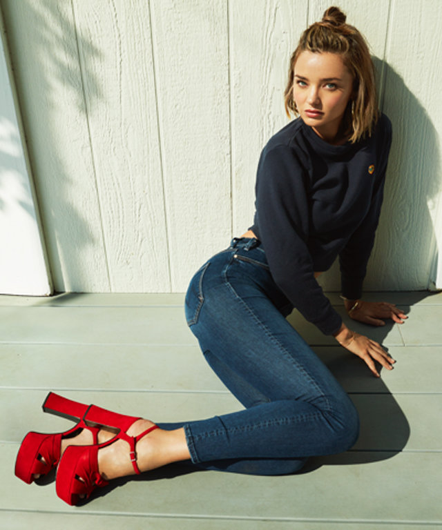 Miranda Kerr Gets Her Own Denim Line for a Beautiful Cause
