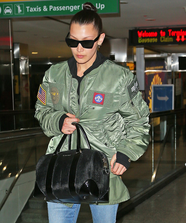 Bella Hadid Proves That Traveling Requires No Sacrifice in Style
