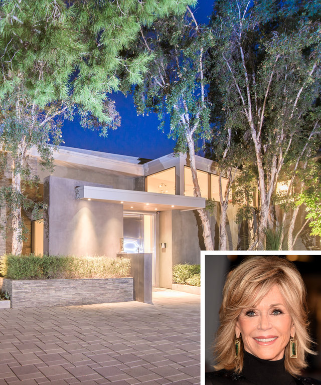 Jane Fonda's Sprawling Beverly Hills Home Can Be Yours for $13M