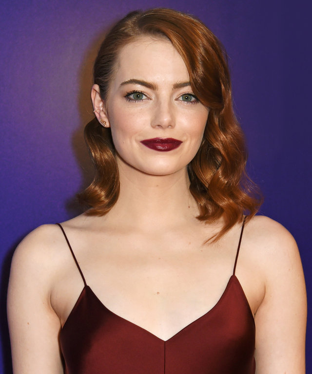 "LONDON, ENGLAND - JANUARY 12:  Emma Stone attends the ""La La Land"" Gala Screening at The Ham Yard Hotel on January 12, 2017 in London, England.  (Photo by David M. Benett/Dave Benett/WireImage)"