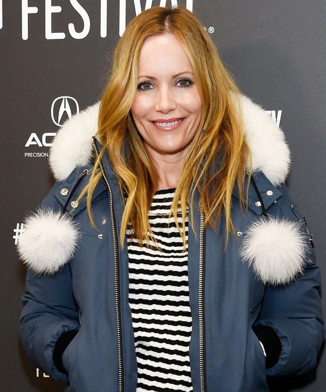 """2017 Invision Actress Leslie Mann poses at the premiere of the film """"The Big Sick"""" at Eccles Theatre during the 2017 Sundance Film Festival on Friday, Jan. 20, 2017, in Park City, Utah. (Photo by Chris Pizzello/Invision/AP)"""