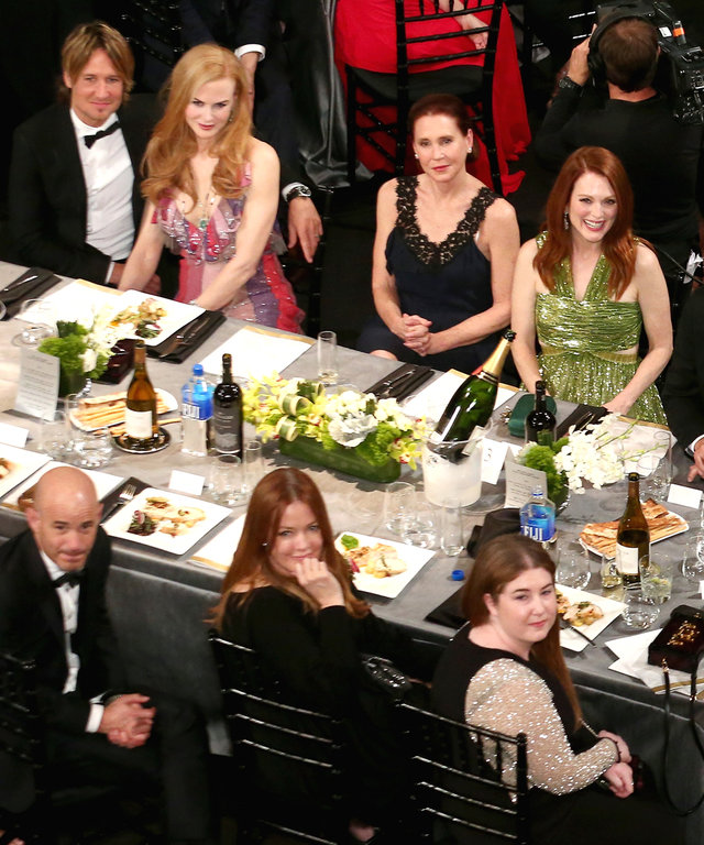 LOS ANGELES, CA - JANUARY 30:  The audience is seen during The 22nd Annual Screen Actors Guild Awards at The Shrine Auditorium on January 30, 2016 in Los Angeles, California. 25650_022  (Photo by Mark Davis/Getty Images for Turner)
