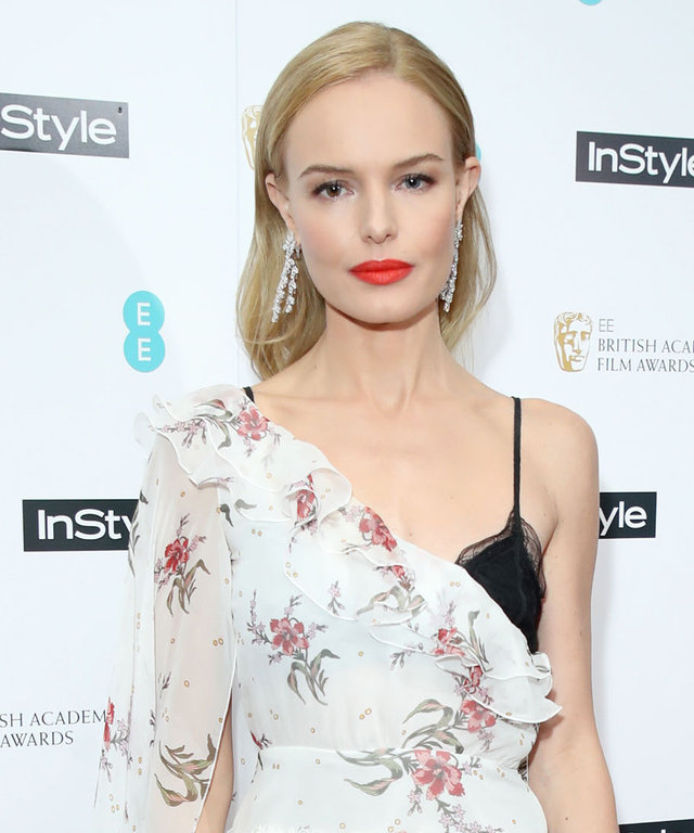 LONDON, ENGLAND - FEBRUARY 01:  Kate Bosworth attends the InStyle EE Rising Star Party at the Ivy Soho Brasserie on February 1, 2017 in London, England.  (Photo by Mike Marsland/Mike Marsland/WireImage)