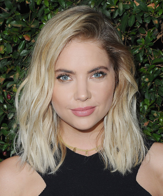 """Actress arrives at the Celebration For Freeform's """"Pretty Little Liars"""" Final Season at Siren Studios on October 29, 2016 in Hollywood, California."""