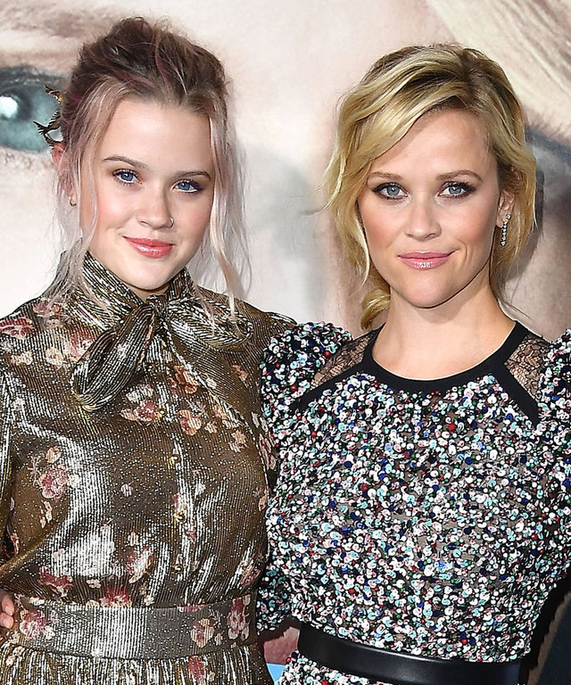 Ava and Reese Witherspoon and the Big Little Lies Stars Step Out for the Premiere