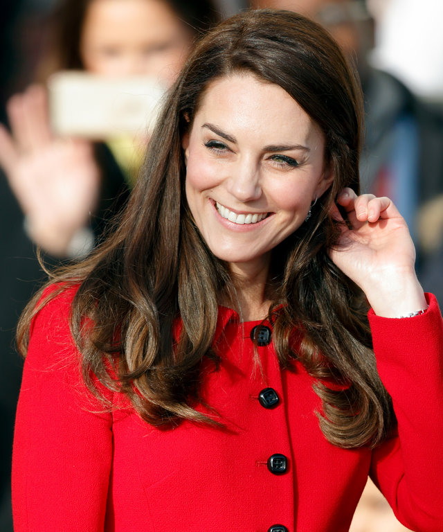LONDON, UNITED KINGDOM - FEBRUARY 06: (EMBARGOED FOR PUBLICATION IN UK NEWSPAPERS UNTIL 48 HOURS AFTER CREATE DATE AND TIME) Catherine, Duchess of Cambridge attends the Place2Be Big Assembly with Heads Together for Children's Mental Health Week at Mitchel