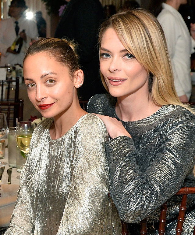 WEST HOLLYWOOD, CA - FEBRUARY 06:  Jennifer Meyer, Poppy Delevingne, Nicole Richie and Jaime King attend Rachel Zoe's Los Angeles Presentation at Sunset Tower Hotel on February 6, 2017 in West Hollywood, California.  (Photo by Stefanie Keenan/Getty Images
