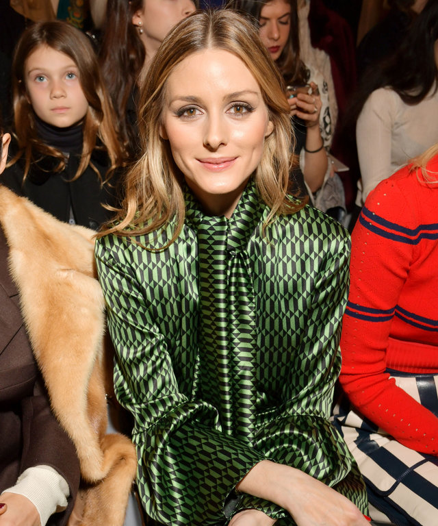 All the Celebrities Sitting Front Row at Milan Fashion Week