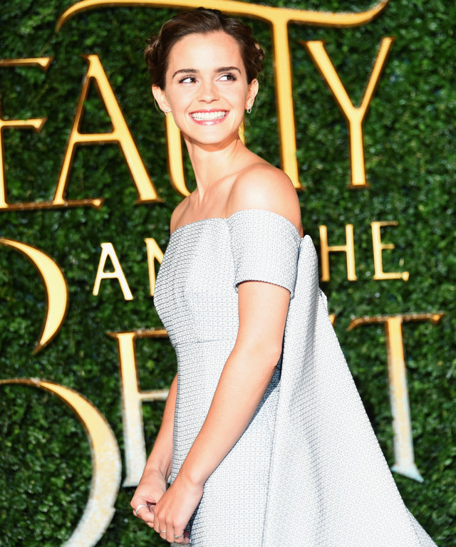 Emma Watson's Princess Dress Looks More Queen Elsa Than Belle