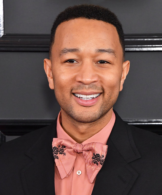 John Legend's Trophy Case Is Distracting Us from Baby Luna's Cuteness