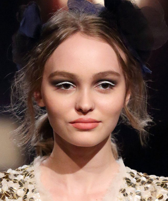 Mandatory Credit: Photo by Masatoshi Okauchi/REX/Shutterstock (8851701r) Lily-Rose Depp on the catwalk Chanel Metiers D'art Collections show, Tokyo, Japan - 31 May 2017