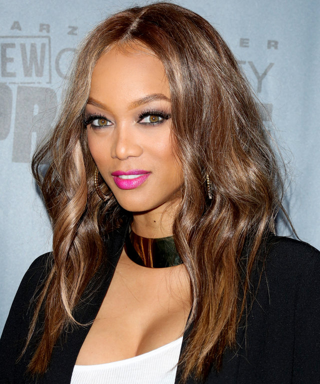 Tyra Banks Contact: InStyle.com