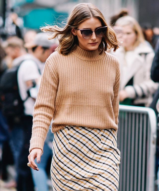 0a8ab59e1cd Olivia Palermo Wore Topshop to Fashion Week
