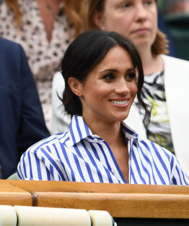 Meghan at Wimbledon lead