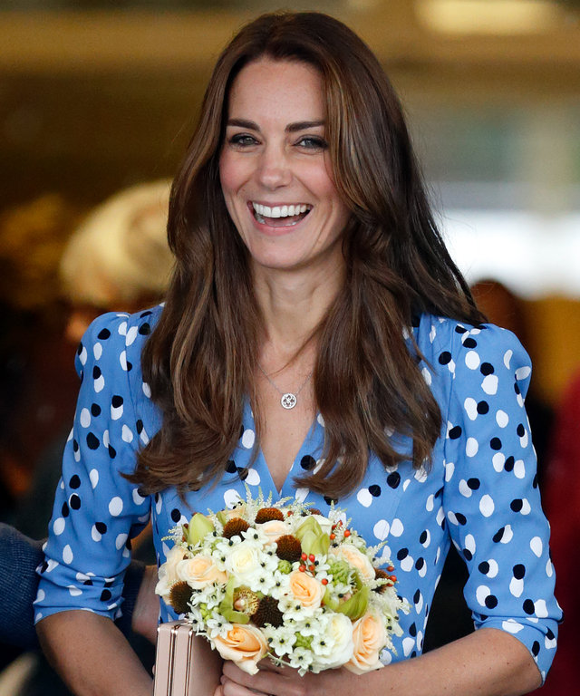 Kate Middleton orange lead