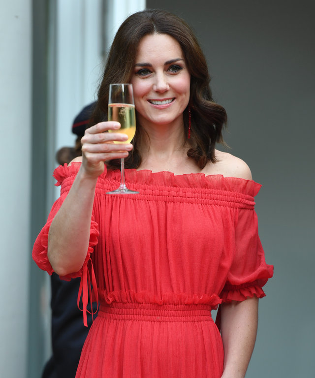 Kate Middleton drinking society lead