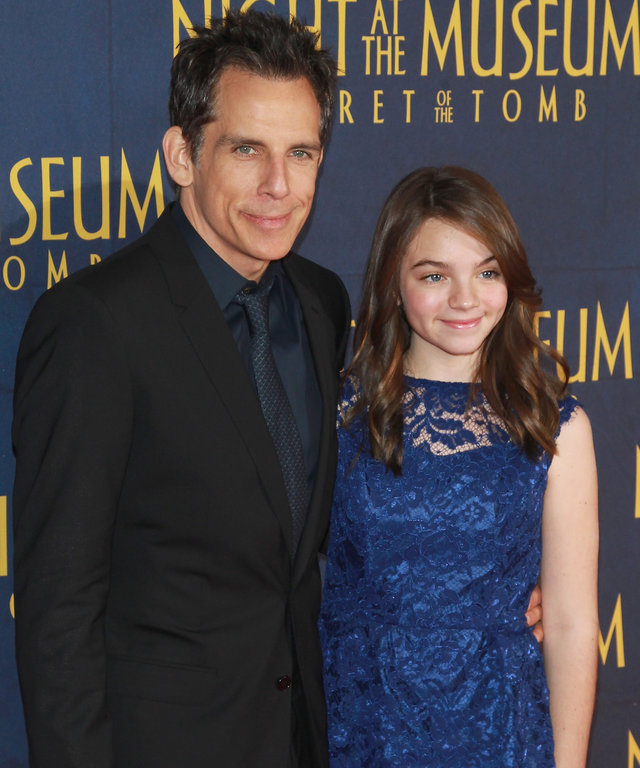 Ben Stiller daughter Ella lead