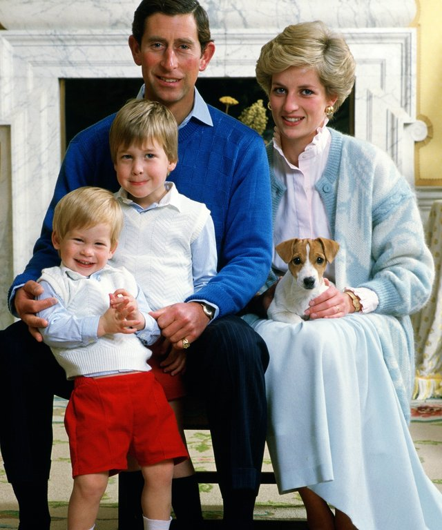 Harry, William, and Charles lead