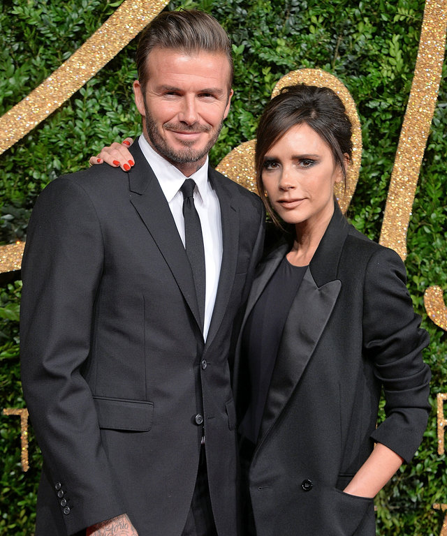 David and Victoria Beckham lead