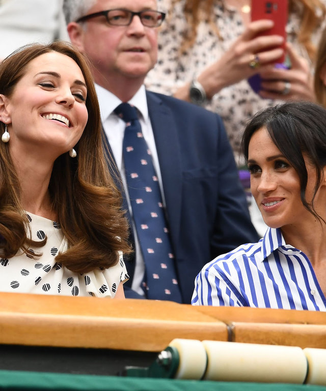 Meghan and Kate lead